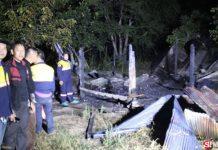 เศร้าตั้งแต่ต้นปี พลุปีใหม่ทำไฟไหม้บ้าน เจ้าของเมาหลับตายคากองเพลิง